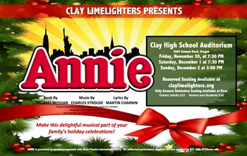 Clay High School Performing Arts Upcoming Events