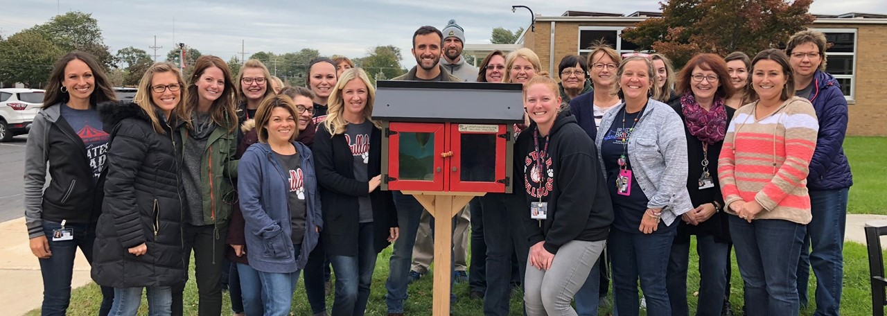 Free Little Library at Starr Elementary