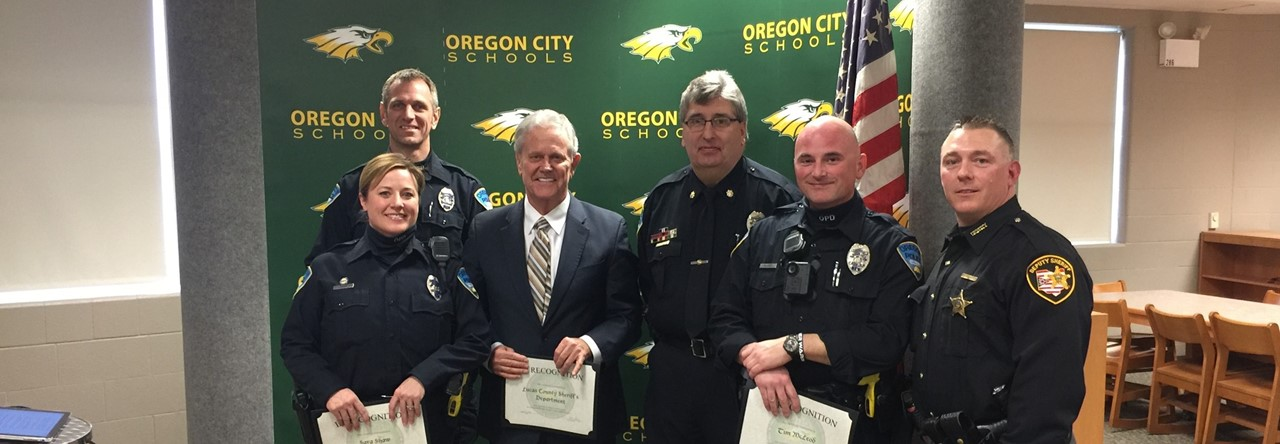 Oregon Police-School Resource Officers-Sheriff's Department