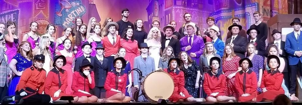 Clay HS Limelighters Cast of Guys and Dolls