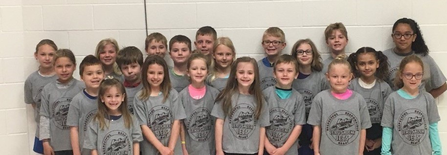 Jerusalem Elementary Students - May Student of Month Awards