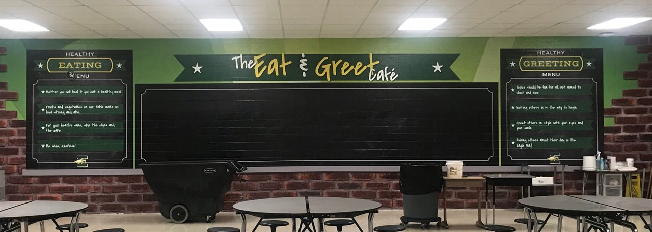 Eisenhower Cafeteria - Looks Great!