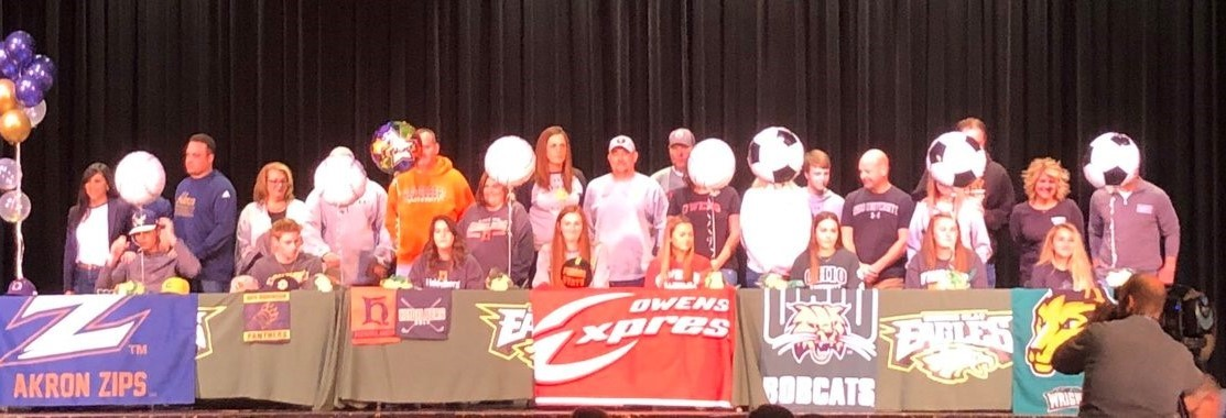Clay Athletes Signing Day