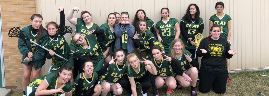 Clay Eagles Girl's LaCrosse Team