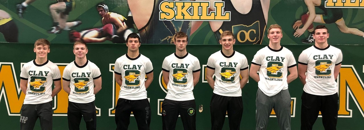 Clay Wrestlers - Seven State Competitors
