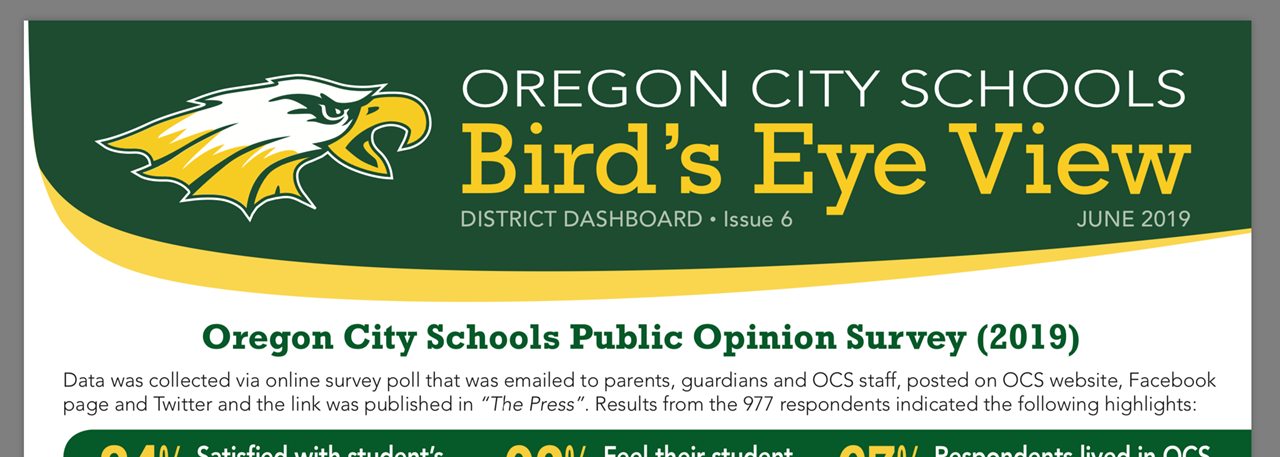 June 2019 Bird's Eye View District Dashboard Newsletter