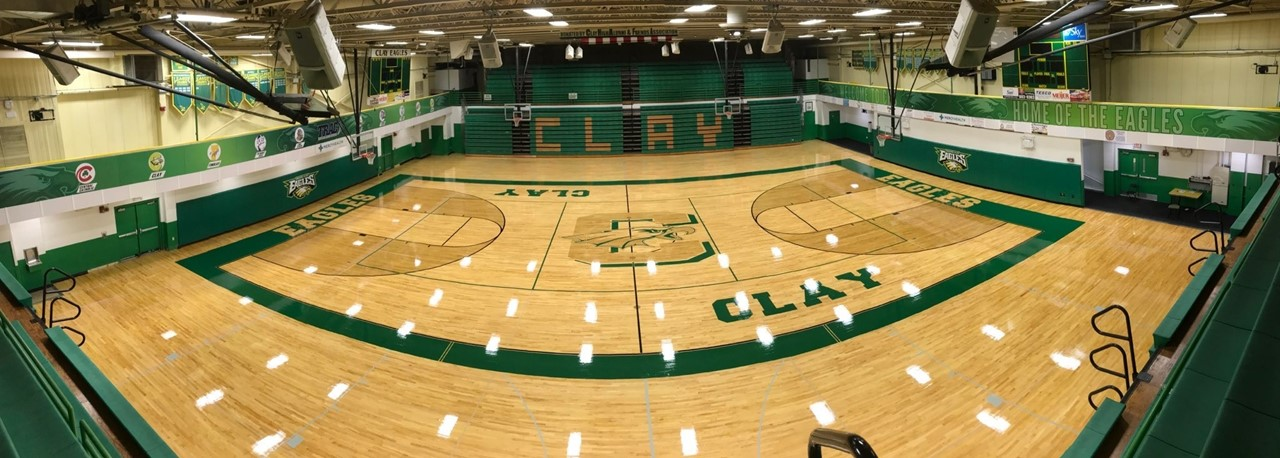 Clay Potter Gym - New Floor Design