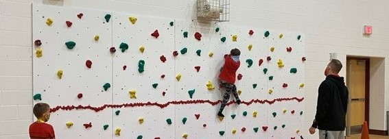 New Coy Elementary Rock Climbing Wall