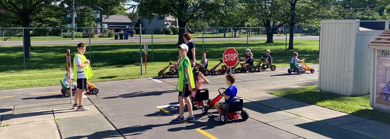 Kindergarten Safety Town - Starr Elementary