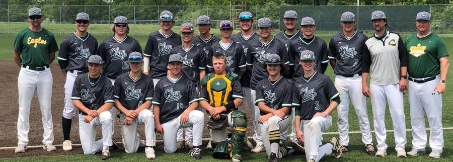 Clay Baseball 2021 TRAC Champs!