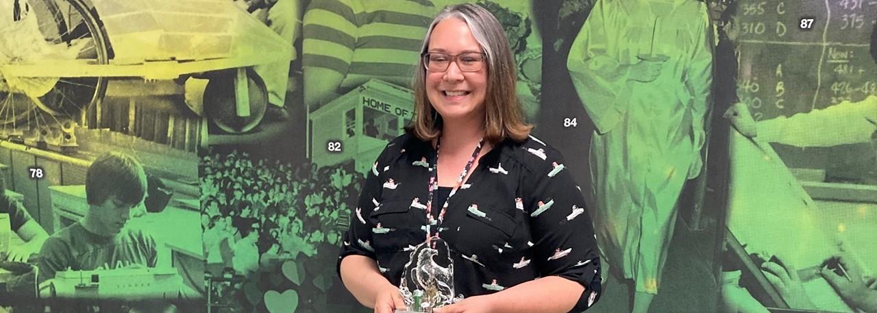 2021 Teacher of the Year - Sarah Bretz - Clay HS