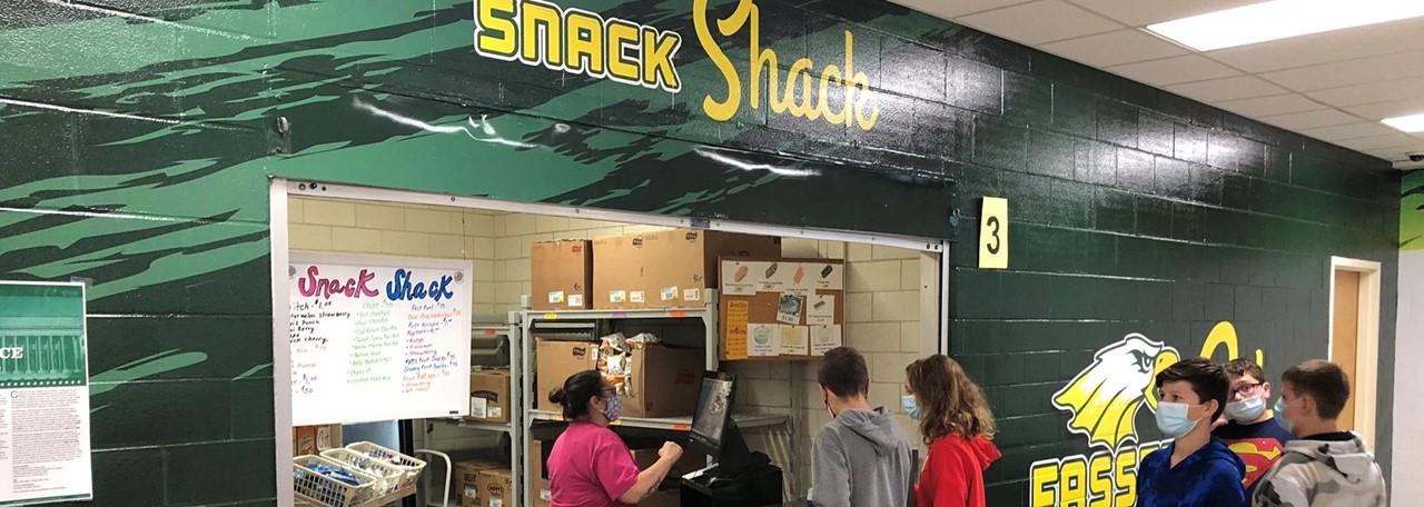 Fassett Snack Shack Open for Business